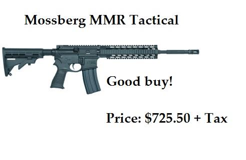 MSBRG MMR TACTICAL 223 16 CST$670 RTL$723.99